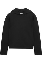Balenciaga Suspended cotton-terry hooded top