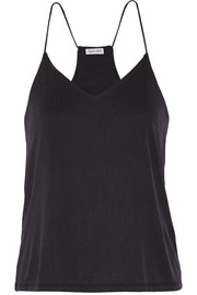 Splendid Ribbed stretch modal-blend camisole