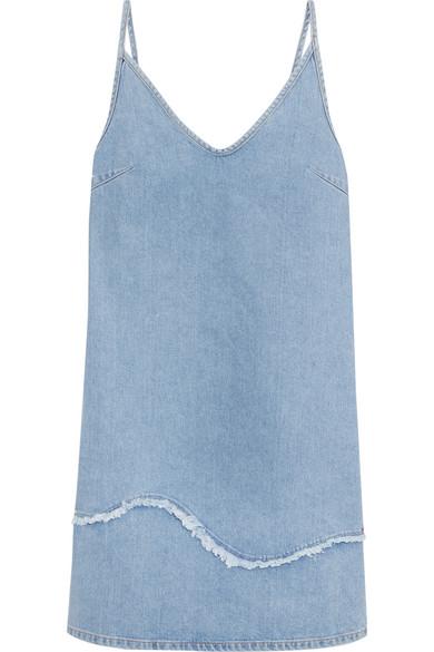 M.i.h Jeans - Harley Frayed Denim Dress - Mid denim