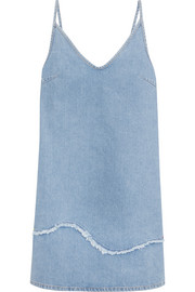 Harley frayed denim dress