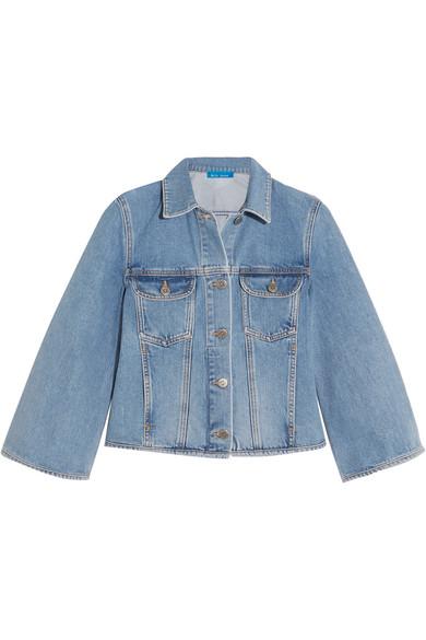Arch cropped denim jacket