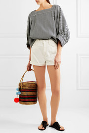 Caron cut-off denim shorts
