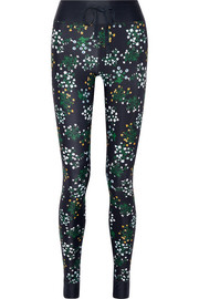 Ditsy floral-print stretch leggings