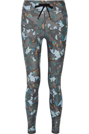 Masquerade printed stretch leggings