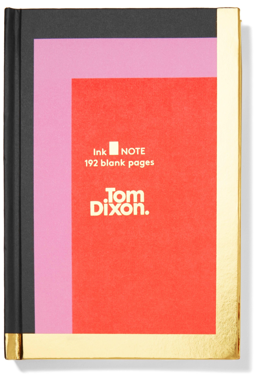Tom Dixon Ink color-block hardback notebook