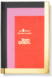 Ink color-block hardback notebook