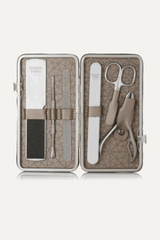 Leather-Bound Manicure & Pedicure Set