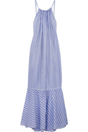 Cassius striped cotton maxi dress