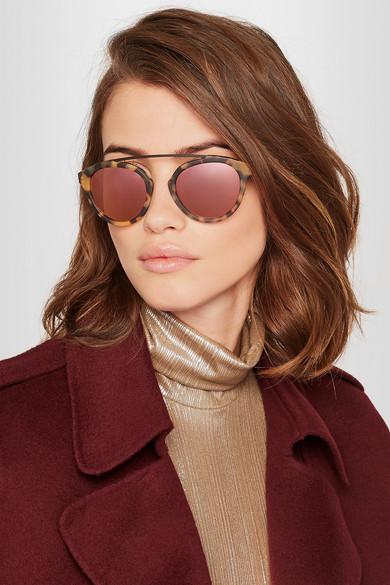 Westward Leaning Sunglasses Olivia  westward leaning x olivia palermo flower 13 aviator style