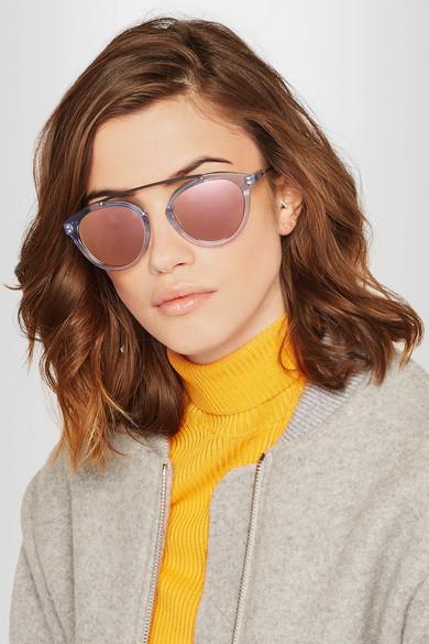 Westward Leaning Sunglasses Olivia  westward leaning x olivia palermo flower 14 aviator style