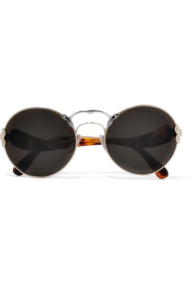 2c866c6a10 ... switzerland prada round frame acetate and metal sunglasses net a porter  7757f eaa7a