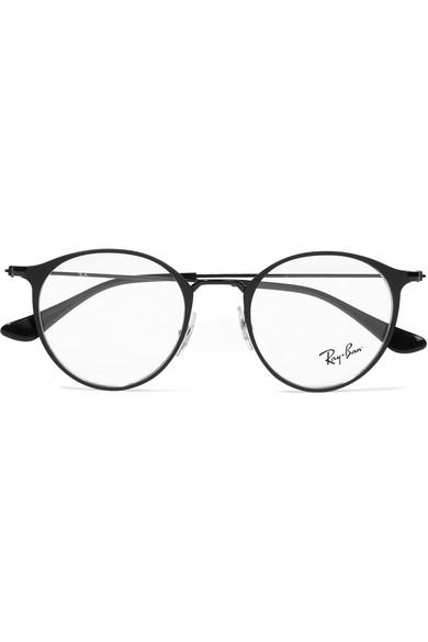 945f2f9b2f Ray-Ban. Round-frame metal optical glasses