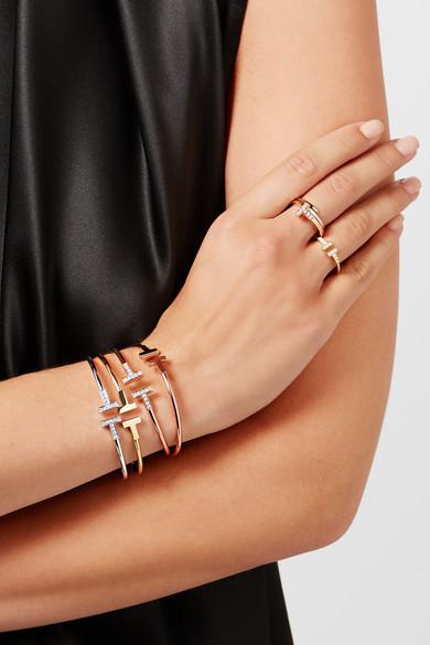 Tiffany Rose Gold Diamond Bracelet