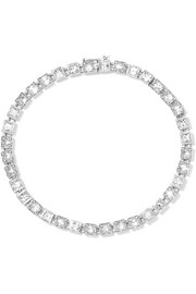 T Tennis medium 18-karat white gold diamond bracelet