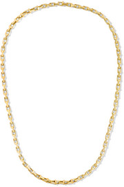 "T Chain 20"" 18-karat gold necklace"