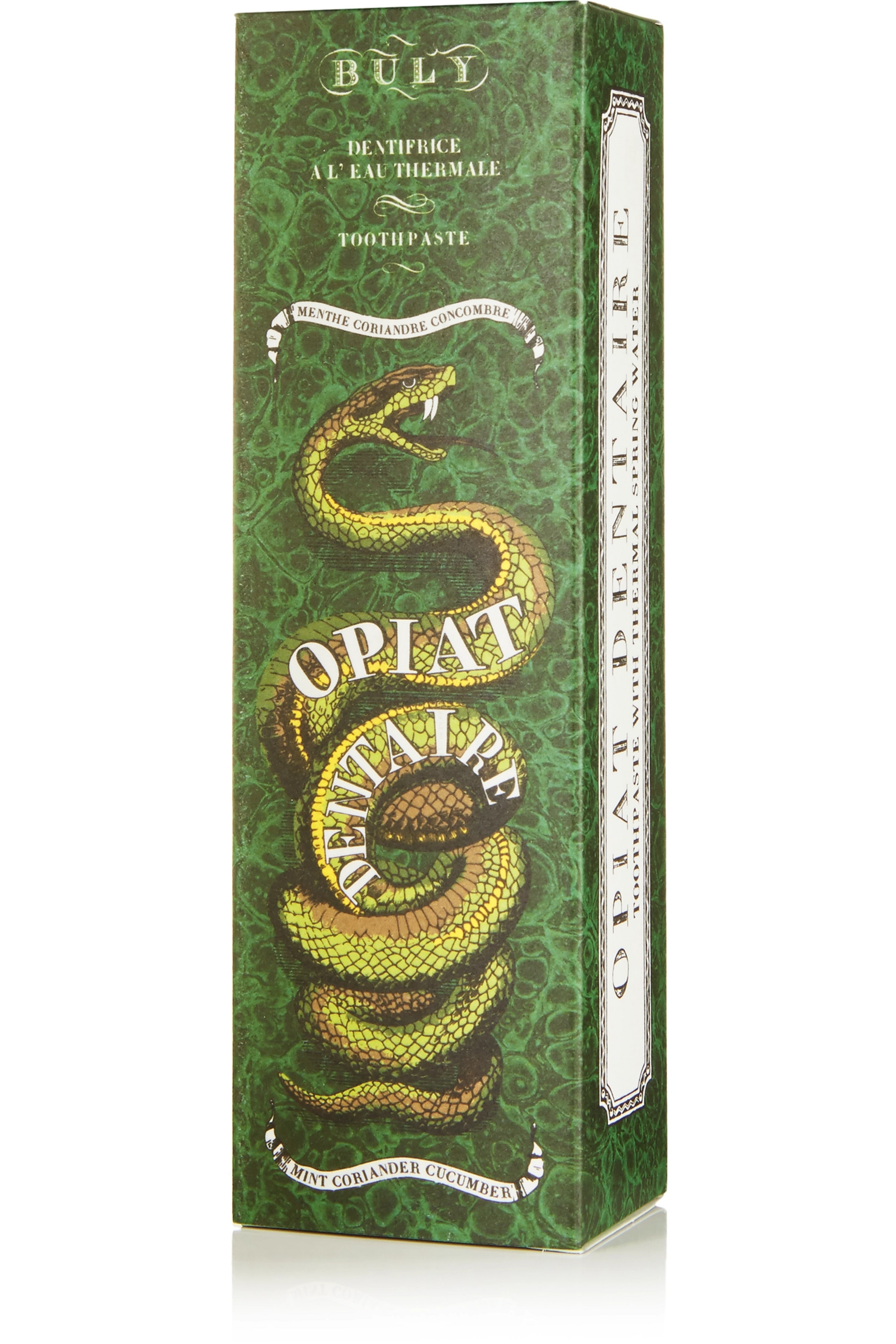 Buly 1803 Opiat Dentaire Toothpaste, 75ml - Mint, Coriander and Cucumber