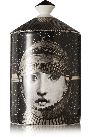 FORNASETTI Armatura Scented Candle, 300G in Black