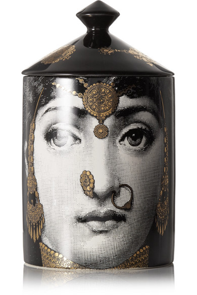 Fornasetti - L'eclaireuse Scented Candle, 300g - Black