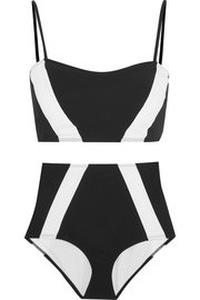 Perry two-tone bikini