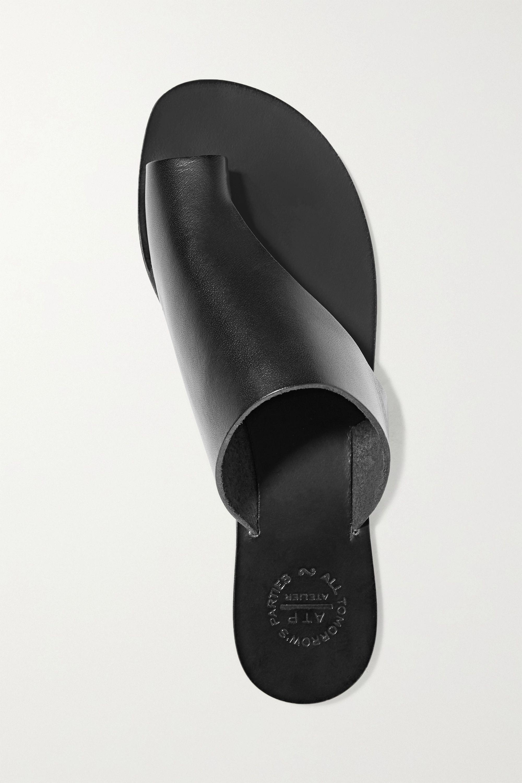 ATP Atelier Rosa 挖剪皮革凉鞋