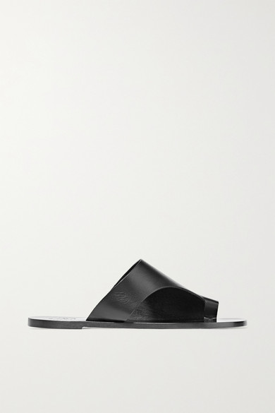 Rosa cutout leather sandals
