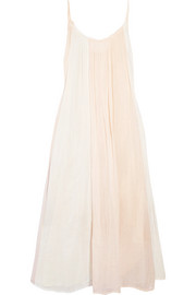 Reve cotton-gauze midi dress