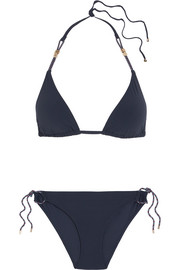 Stella McCartney Lacing triangle bikini