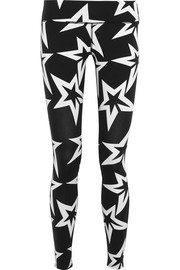 Perfect Moment Starlight printed stretch-jersey leggings
