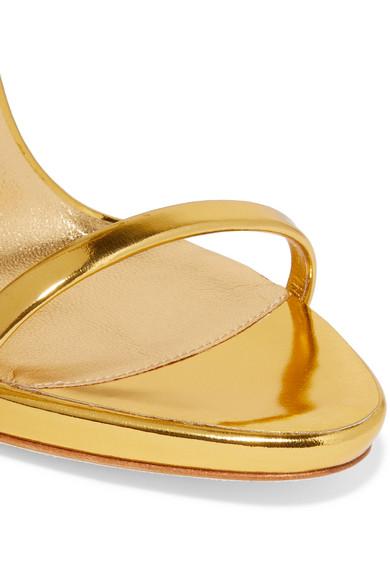 76d12af842c4b Giuseppe Zanotti. Harmony metallic leather sandals.  845. Zoom In