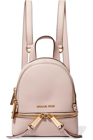 michael michael kors rhea mini textured leather backpack net a rh net a porter com