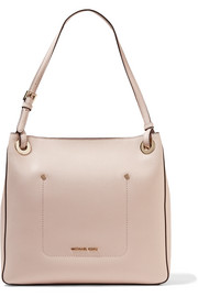 Walsh textured-leather tote