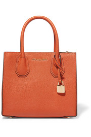 Mercer Messenger textured-leather tote