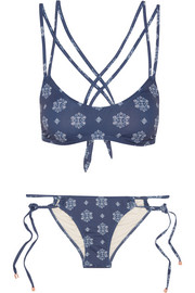 Buena Vista Connor Rio printed bikini