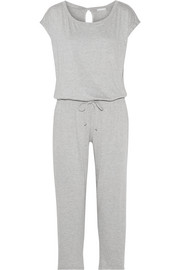 Darby stretch-modal jersey jumpsuit