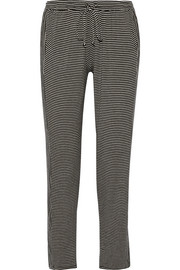 Toni striped stretch-jersey pajama pants