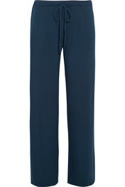 Cara slub stretch-jersey pajama pants