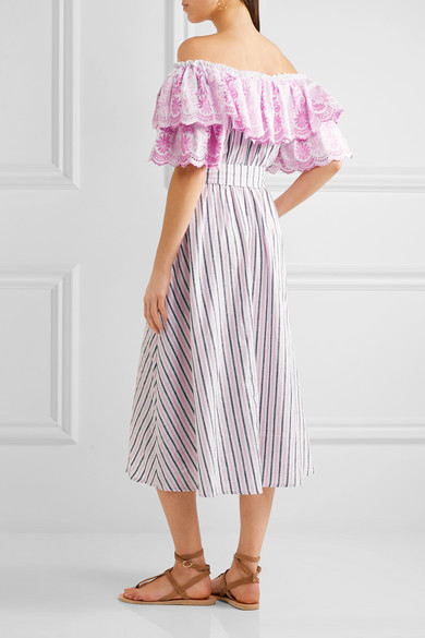 off-shoulder long dress - Pink & Purple Gül Hürgel Nicekicks sEsZgLa2N
