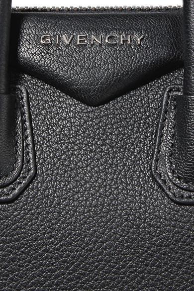 Givenchy Antigona mini Schultertasche aus strukturiertem Leder