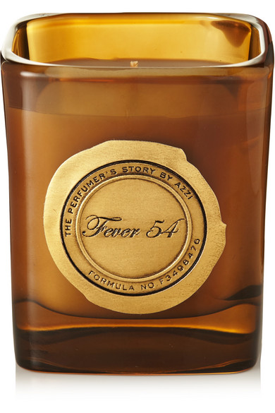 THE PERFUMER'S STORY BY AZZI GLASSER Fever 54 Scented Candle, 180G in Saffron