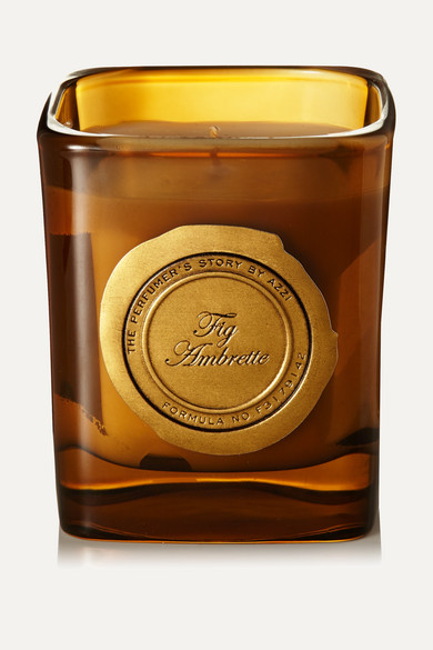 The Perfumer's Story by Azzi Glasser - Fig Ambrette Scented Candle, 180g - one size