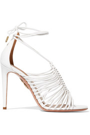 Aquazzura Nadja leather sandals