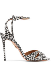 Aquazzura Zola elaphe sandals