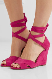 Tarmid suede wedge sandals
