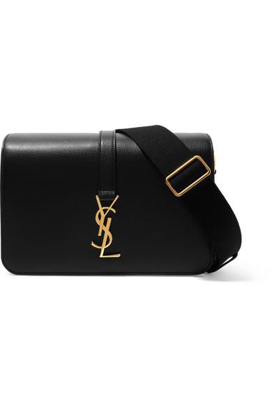 Monogramme Leather Clutch - Black Saint Laurent yP1OQQ
