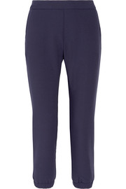 The Mirabelle stretch-crepe track pants