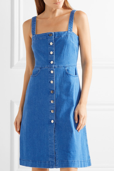 56aaf155ca Stella McCartney. Linda stretch-denim dress