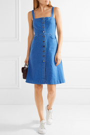 Linda stretch-denim dress