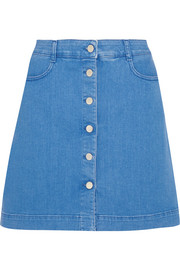 Stella McCartney Stretch-denim mini skirt