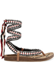 Sam Edelman Kelby tasseled woven sandals