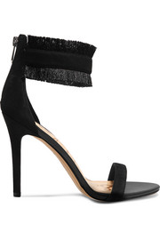 Anabeth fringed suede sandals
